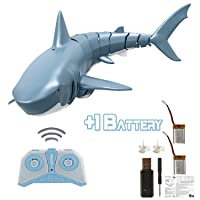 RC Shark Toys for 4 5 6 7 8 9 10+ Year Old Boys, Girls and Adults - Bath, Water...