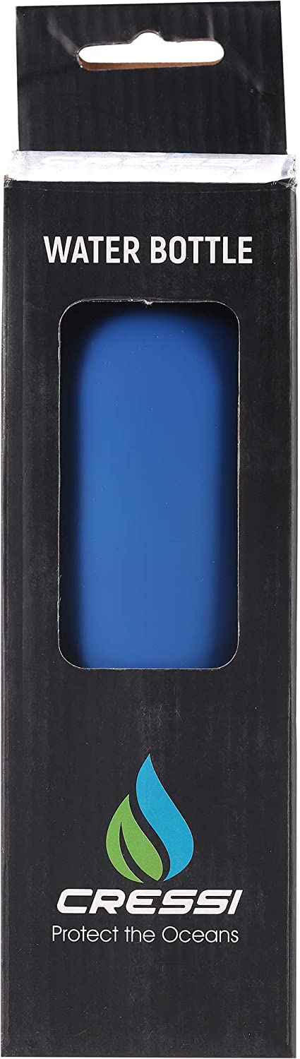 Cressi Rubber Coated Thermal Flask 500 ml Botella t/érmical para Deportes Cubierta de Goma Unisex-Adult