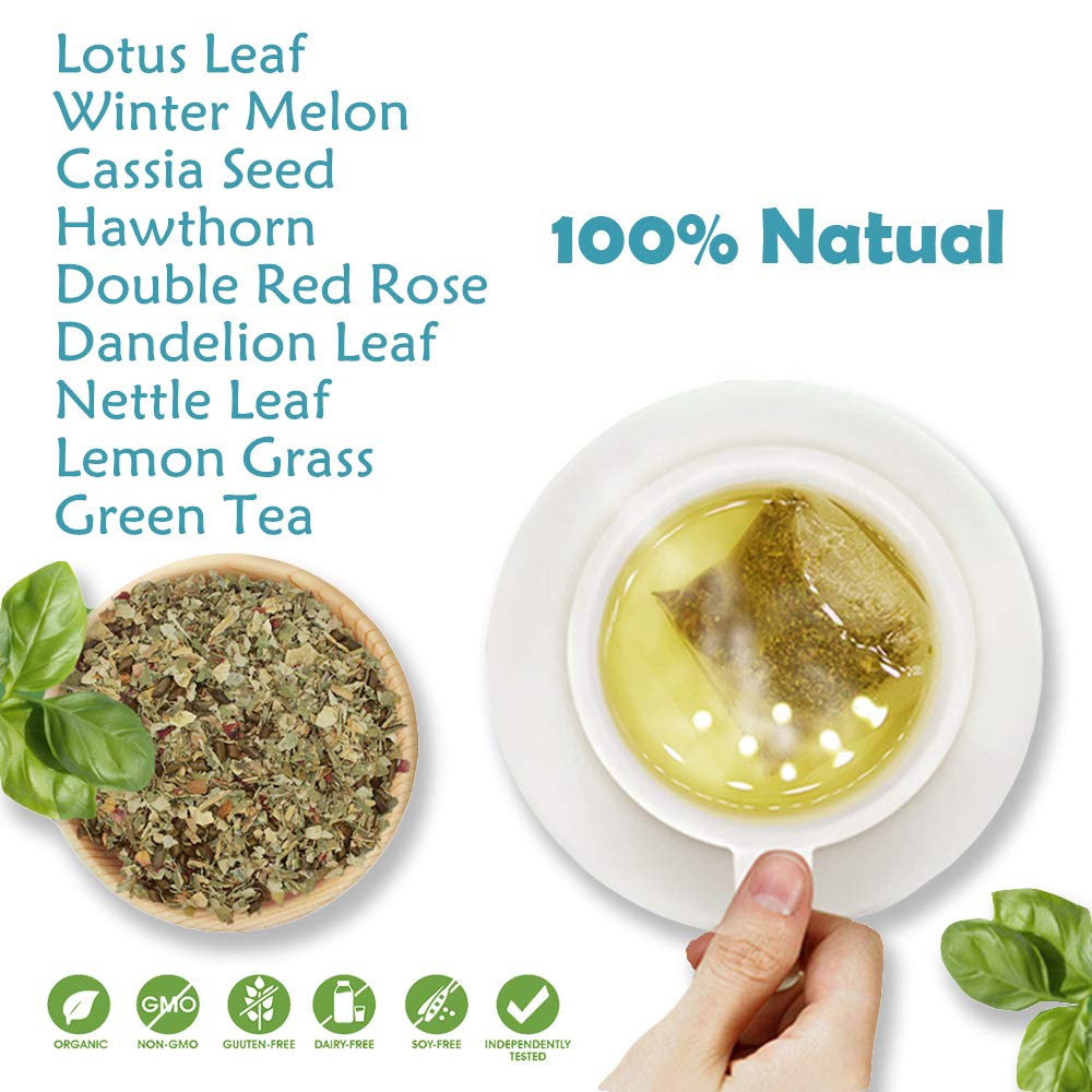 28 Day Weight Loss Tea, Natural Ingredients, Green People Skinny Tea for Slim, Belly Fat
