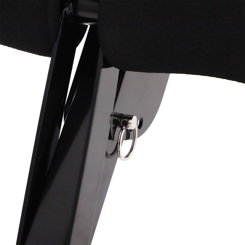 HOMCOM Entrenador Abdominal Plegable para Uso Dom/éstico Banco Plegable Multiusos de Espalda y Abdomen con Acolchado Ergon/ómico 3 Niveles Altura 2 Modos de Ejercicio