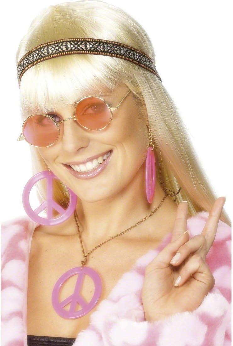 NET TOYS Complementos para Traje de Hippie Accesorios Disfraz ...