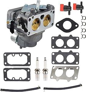 CQYD New 15004-7024 Carburetor Gasket Kits for Kawasaki Some FH641V FH661V 22 HP engine Replace # 15004-1010 15004-0763