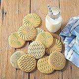 Nordic Ware Geo Cast Cookie Stamps
