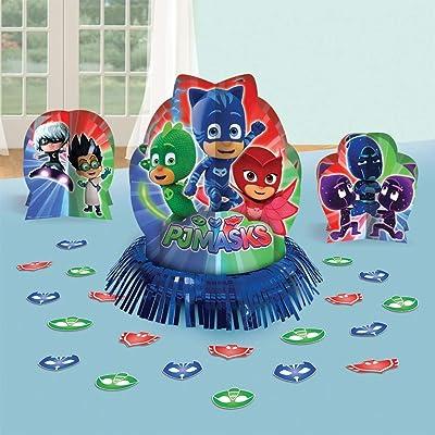 amscan Table Deco Kit Pj Masks: Toys & Games