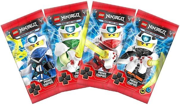 Blue Ocean Caja 25 Sobres Lego Ninjago Trading Card Game: Amazon ...
