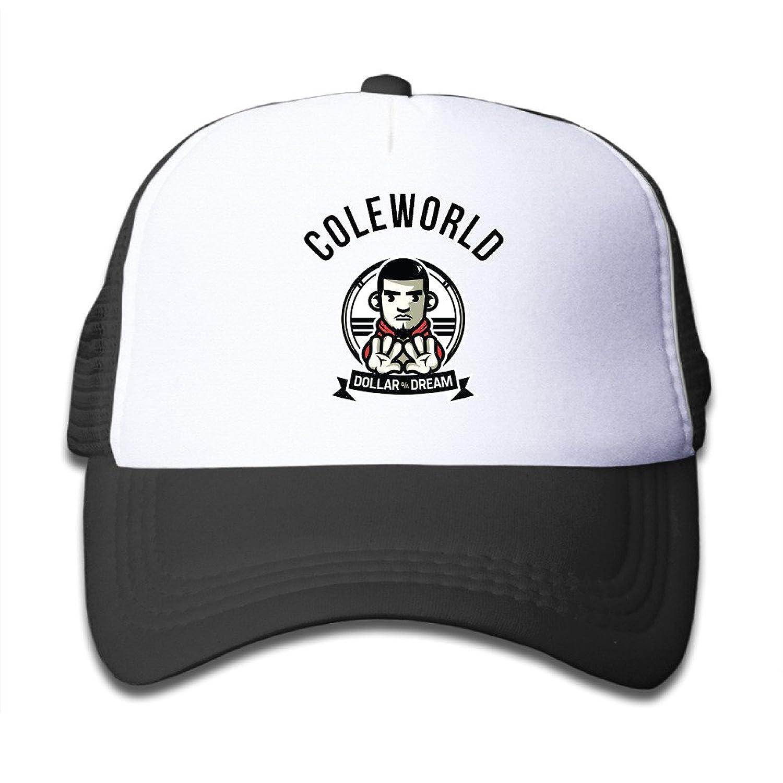 J. Cole Child Adjustable Mesh Trucker Cap Sun Protection Bucket Hat