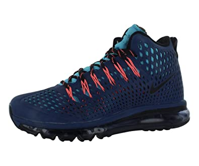 cheap for discount eb16d 40bf1 Amazon.com   Nike Mens Air Max Graviton Boots Brave Blue Black Gamma Blue  616045-404 Size 8   Hiking Boots
