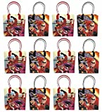 12pc Disney Incredibles 2 Party Goodie Bags Party Favor Bag Gift Bags