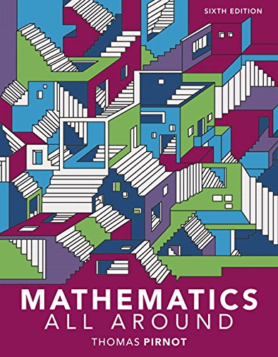 MyLab Math with Pearson eText -- Standalone Access Card -- for Mathematics All Around (6th Edition)