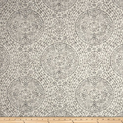 Magnolia Home Fashions Marrakesh Porcelain Fabric By The Yard (Magnolia Porcelain)