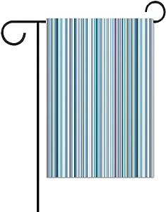 Creativity Heart-Shaped Petal Garden Flag Cotton 31x46cm