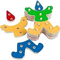 Troque e Encaixe as Cores Palhaço Carlu Brinquedos