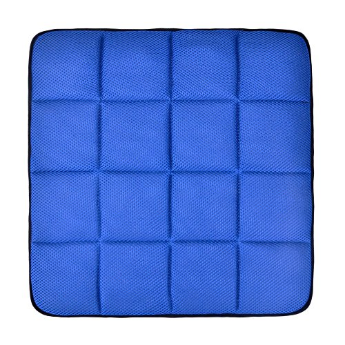 liliany bamboo charcoal breathable car seat office chair cushion pad mat blue supplies mats. Black Bedroom Furniture Sets. Home Design Ideas