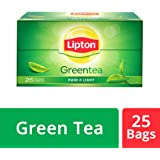 Lipton Green Tea Pure and Light Tea Bags, 25 bags