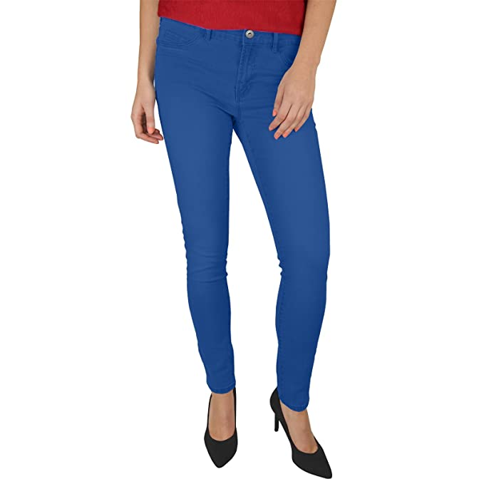 Amazon.com: westace Ladies Skinny ajuste elástico jeans ...