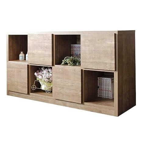 1d23284cc6 Amazon|130-2 ラック ラッキー 1-12 (LB) 書棚 本棚 収納家具 多目的 ...