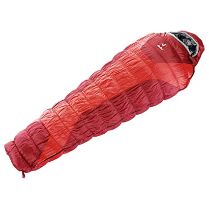 Saco dormir Deuter Exosphere -4C L fire cranberry