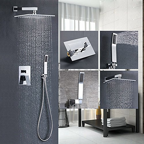 Modern Shower Head and Handle: Amazon.com