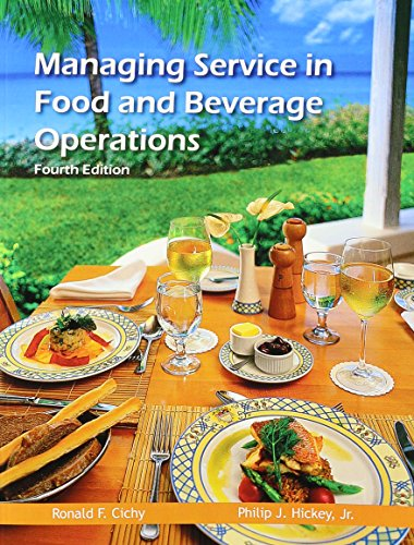 food and beverage operations - 9