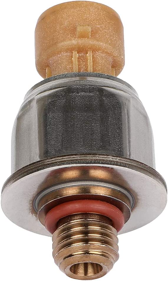 SCITOO Fuel Injection Pressure Sensor fit for 1845428C92 22004-2010 Ford E-450 Super Duty,2003-2005 Ford Excursion,2003-2007 Ford F-250 Super Duty,2003-2007 Ford F-550 Super Duty,Fuel Pressure Sensor