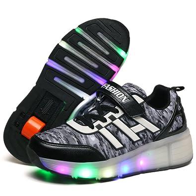 : seunota Niño Zapatillas Zapato Zapatos Luz LED