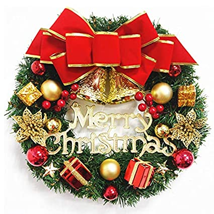 Artificial Christmas Wreaths.Amazon Com Keebgyy Christmas Wreaths Artificial Christmas