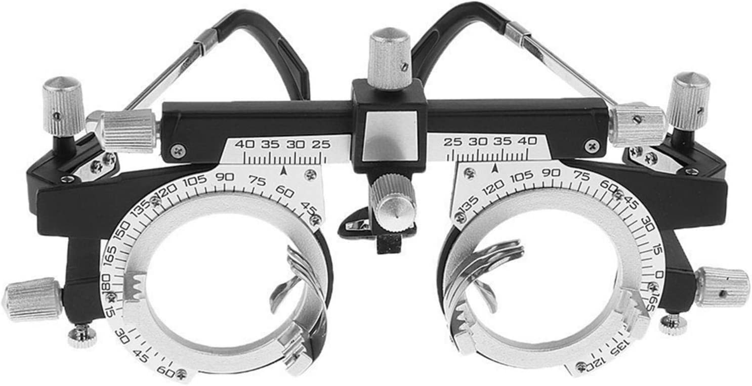 fervortop Optometria Optica Marco De Optometría Montura De Gafas De Optometría, Material De Titanio para La Inspección De La Vista En Tiendas De Óptica, Oftalmología De Hospitales, Escuelas
