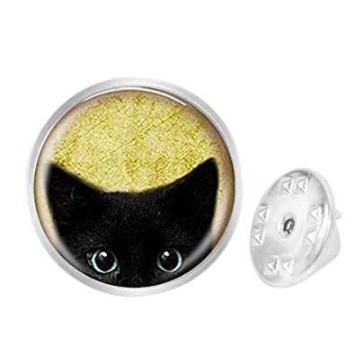 Custom Lapel Pin Brooches Cat is in The Santa Hat Banquet Badge Pins Trendy Accessory Jacket T-Shirt Bag Hat Shoe