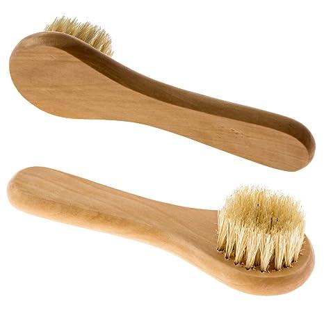 Amazon.com: Cepillo facial de limpieza profunda - incluye un cepillo de limpieza facial para lavado y cepillo facial para uso en la piel seca.