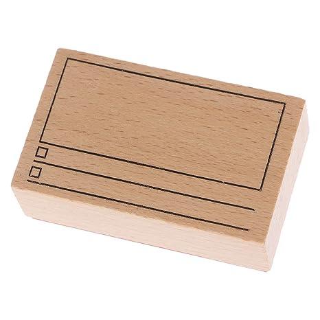 Simbolo Calendario.Kimruida Digitale Tempo Calendario Simbolo Timbro In Legno