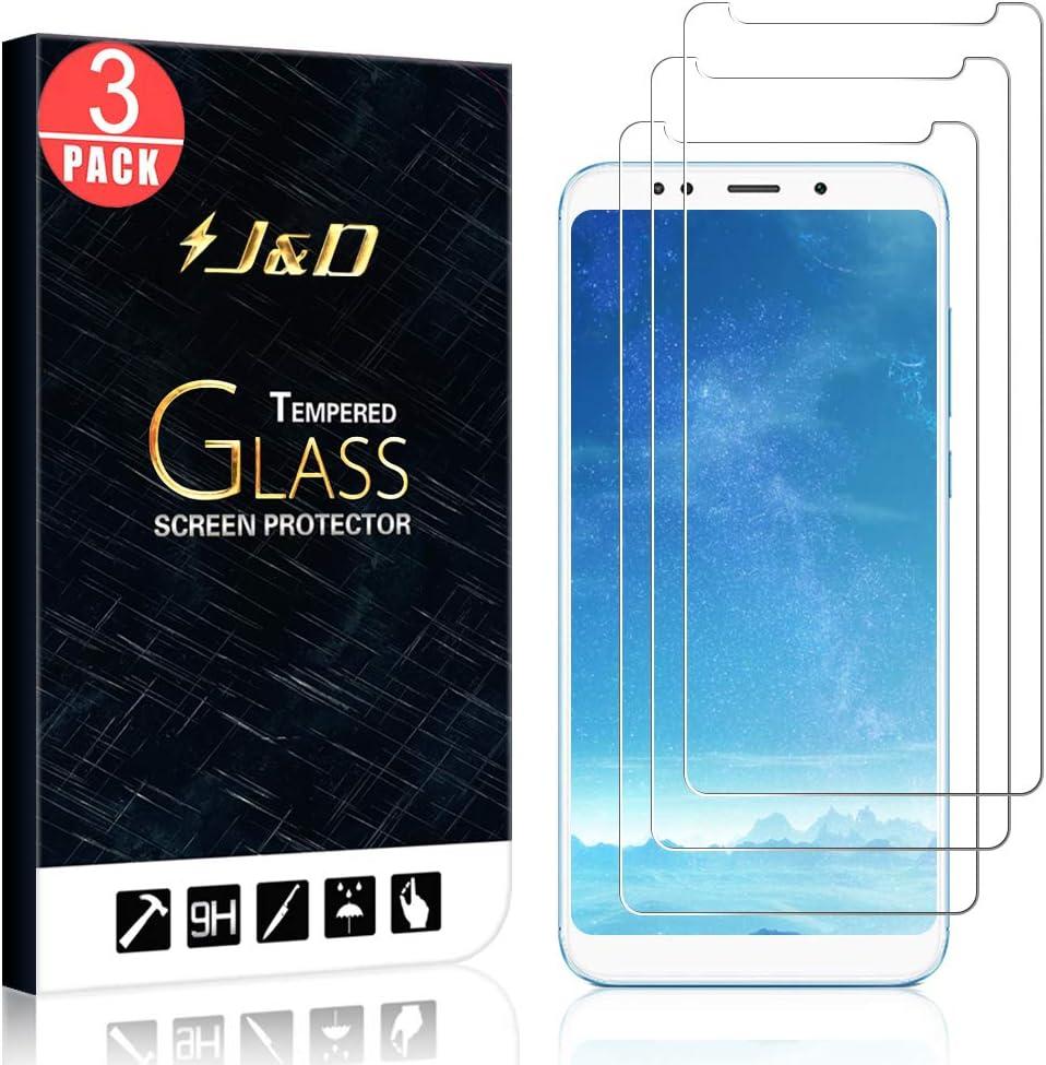 J&D Compatible para 3-Pack Redmi 5 Plus/Redmi Note 5 Protector de Pantalla, [Vidrio Templado] [NO Cobertura Completa] Cristal Templado Protector de Pantalla para Xiaomi Redmi 5 Plus: Amazon.es: Electrónica