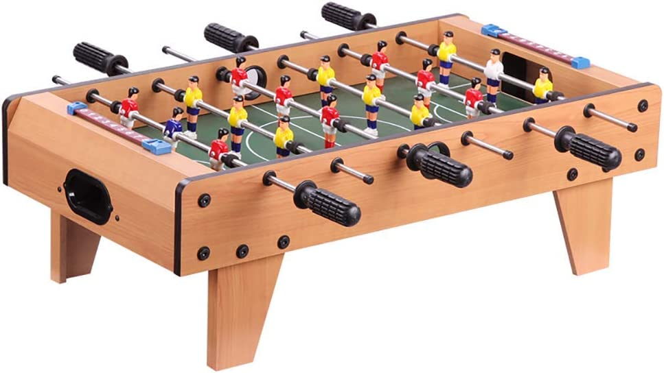 shengshiyujia Mesa de futbolín de Mesa, Mini Mesa portátil de fútbol/Juego de fútbol con Dos Pelotas y anotador para Adultos y niños por: Amazon.es: Deportes y aire libre