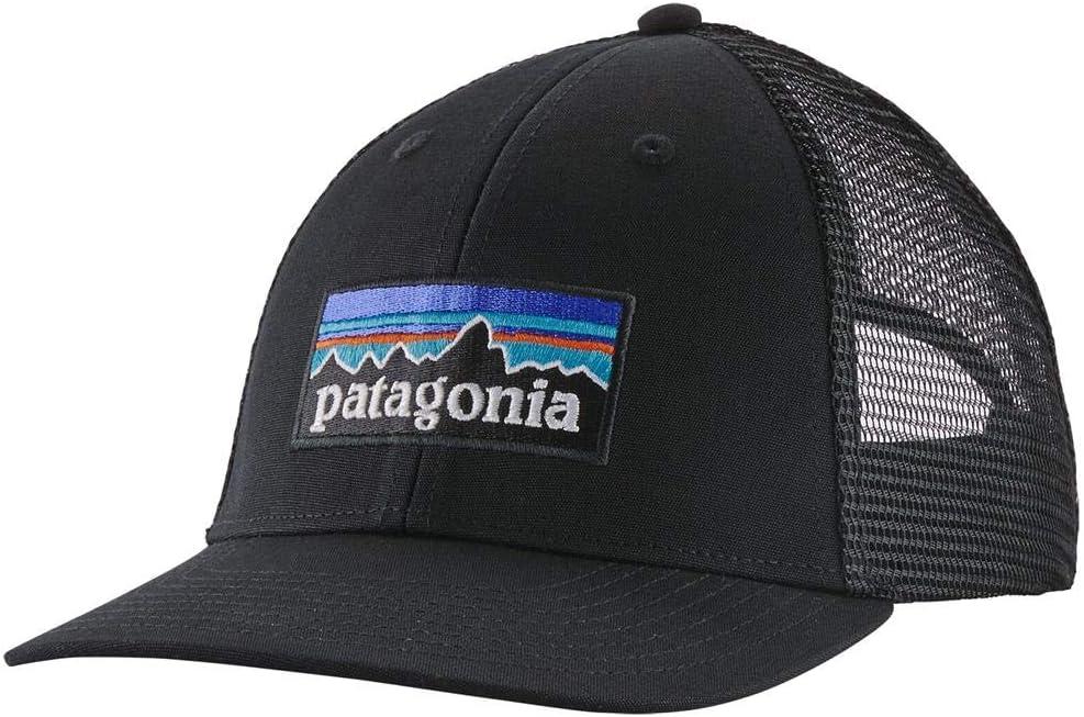 Patagonia P-6 Logo LoPro Trucker Hat Gorra, Unisex Adulto, Black ...