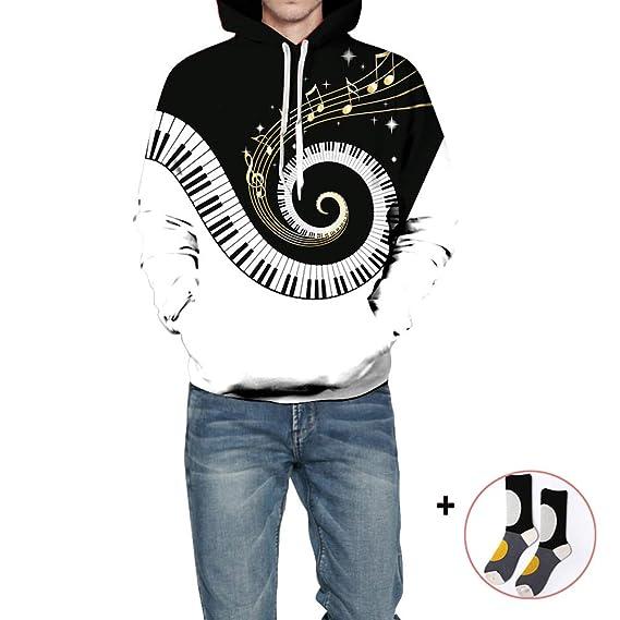 3D-Druck Herren Damen Sweatshirt Paare Jacke Pullover Hoodie Graphic Sweater Neu