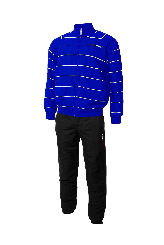 Max Anzug Galaxy Royal Blau Weiß Sport Basic Anzüge