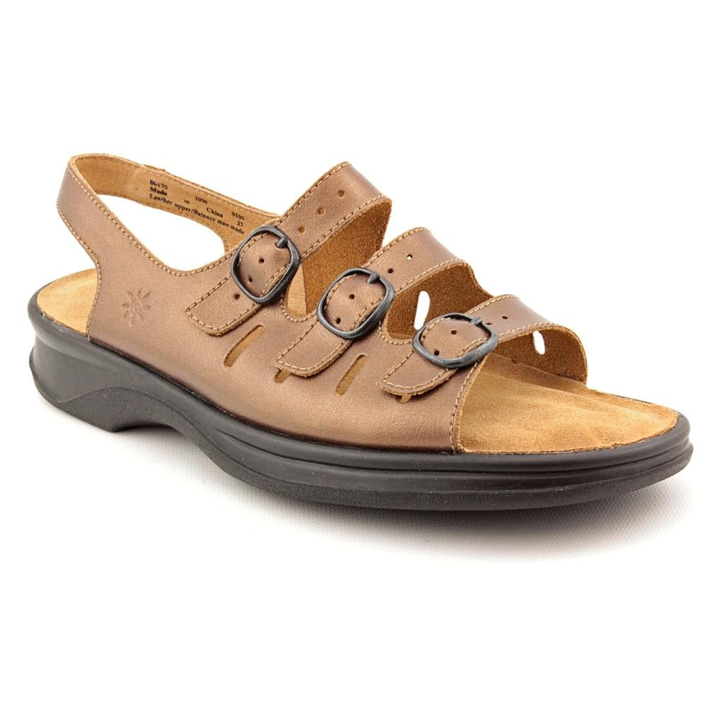 be9b7e9e303 Clarks Sunbeat Womens Bronze Slingbacks Wide Dress Sandals Shoes Size UK 8   Amazon.co.uk  Shoes   Bags