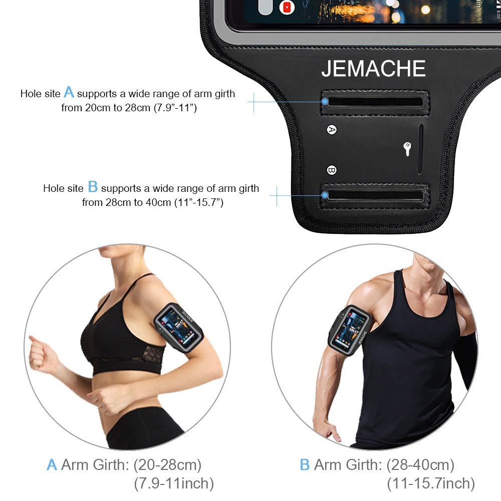 JEMACHE Lauf /Übung Workouts Arm Band Case f/ür Google Pixel 3a Pixel 3a//3//2//1 Armband Pixel mit Schl/üssel Slot Pixel 3 Pixel 2