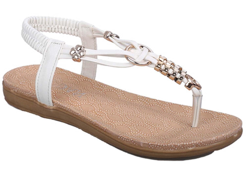 X.D Beige Flower Sandals Size 8