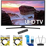 Samsung 55″ 4K Ultra HD Smart LED TV 2017 Model (UN55MU6300FXZA) with