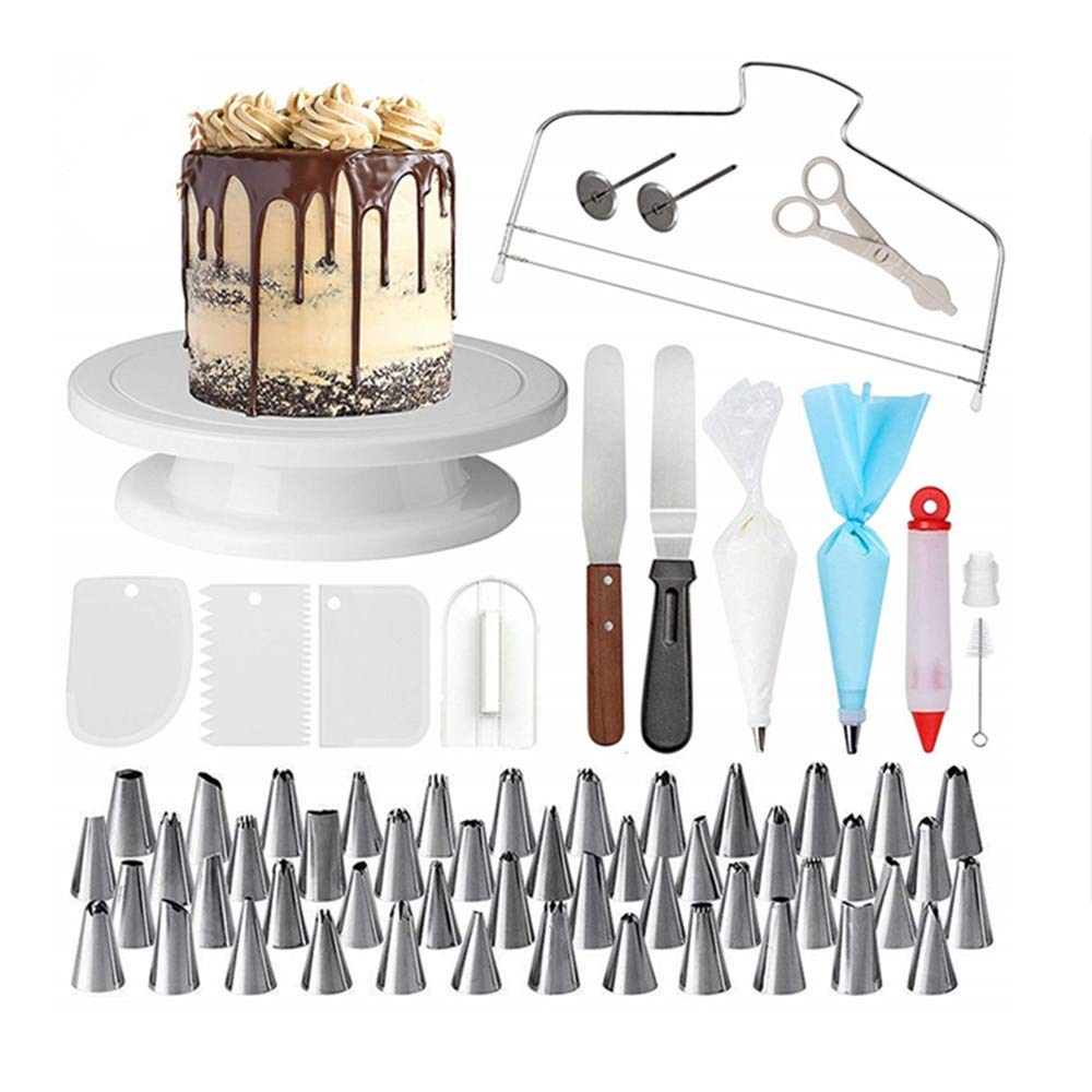 SEADOSHOPPING Baking kit Russian Piping Tips Set Cake Decoration Set