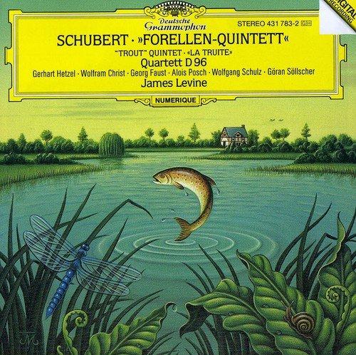 CD : James Levine - Piano Quintet D667 / Piano Quartet D96 (Germany - Import)
