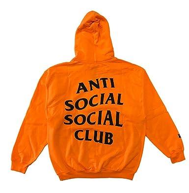 1365cbb2bba4 Identity Anti Social Social Club Hoodie in Orange