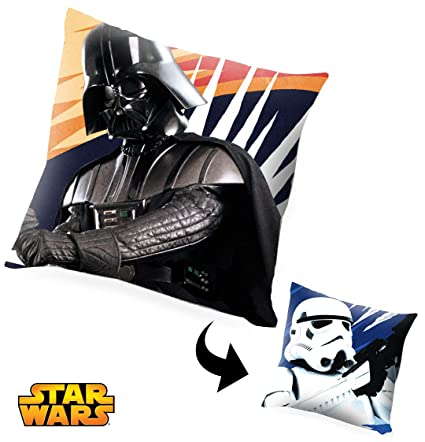 Kids Star Wars Cojín 40x40, Varios, 40x40 cm: Amazon.es: Hogar