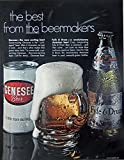 Genesee Beer, 60's Print Ad. full Page Color Illustration (Fyfe & Drum) Original Vintage, Rare 1969 Look Magazine Art