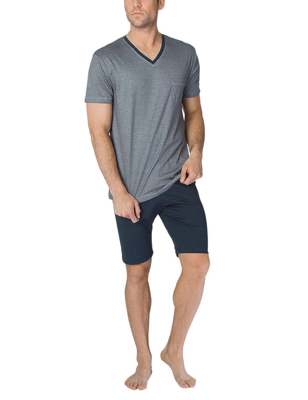 48365 Calida Comfy Zone Micro Modal Pajama Short Set