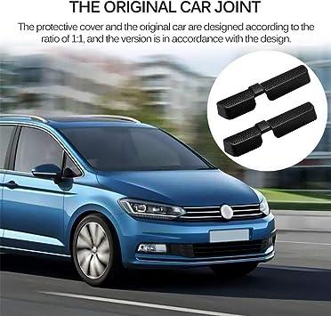 Parkomm 2 Stück Auto Air Vent Abdeckung Air Vent Outlet Netzgrill Fit Für Volkswagen Vw Tiguan 2 Touran Mk2 2016 2017 2018 Auto