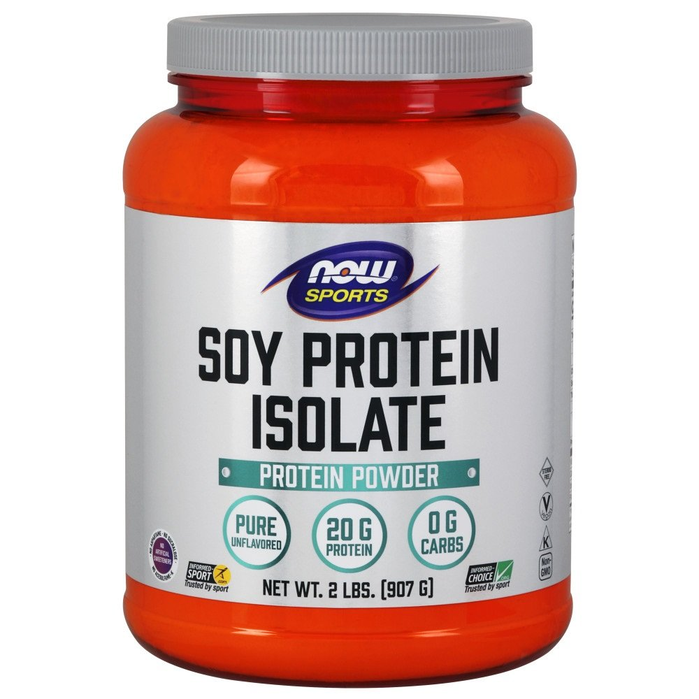 Now Foods Soy Protein Isolate Natural Chocolate