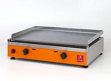 Carrello Da Giardino Usato : Plancha teppanyaki o barbecue a piastra liscia in acciaio inox da