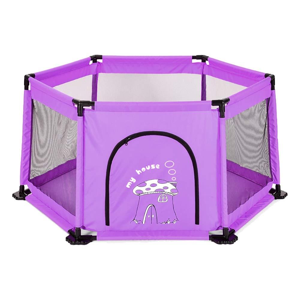 独特の素材 赤ちゃん幼児安全柵、屋内子供用ゲーム遊戯場、幼児用ホーム転倒防止遊び場おもちゃ、紫色 : (色 (色 : Playpen) Playpen) Playpen B07Q7TN2J5, Will One:0f0d3d27 --- a0267596.xsph.ru