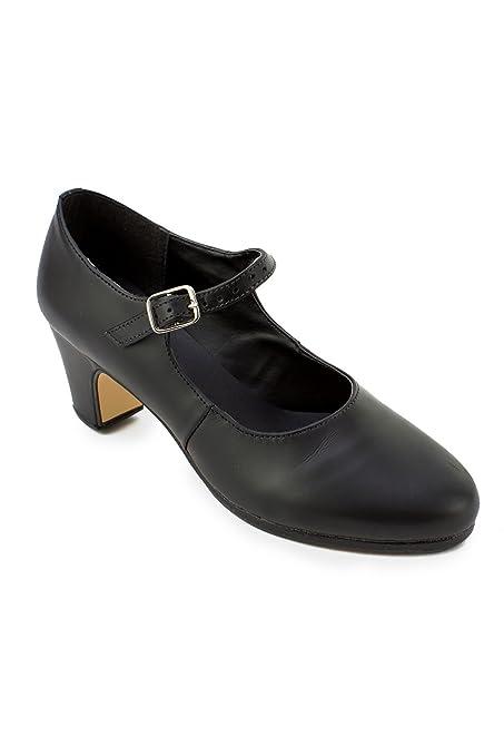 0b4992a65 Amazon.com  So Danca FL12 Leather Flamenco Dance Shoe  Sports   Outdoors